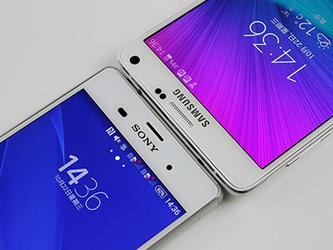 旗舰做工大PK 索尼Z3/Note 4设计对比