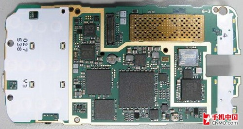 图为诺基亚n96芯片电路板