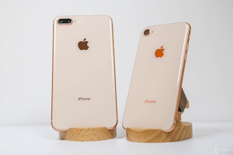 苹果的进一步退化产品 iPhone8&8Plus 金色图