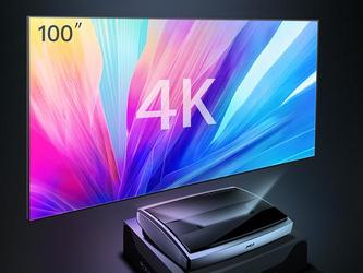 新一代百寸大屏 4K激光电视坚果U1发布