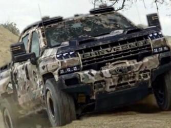 雪佛兰新成员 氢燃料版Silverado概念车