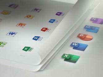 微软Office图标新设计 将于今年12月上线