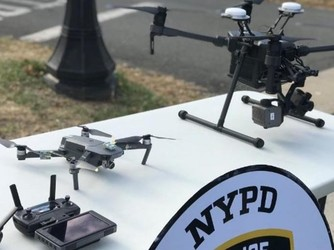 纽约市警察将开始使用无人机 清一色DJI