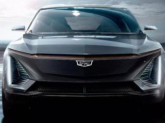 近日 通用汽车终于曝光凯迪拉克首款全电动汽车照片