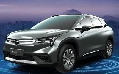 广汽纯电SUV Aion LX亮相上海车展 综合续航超600km