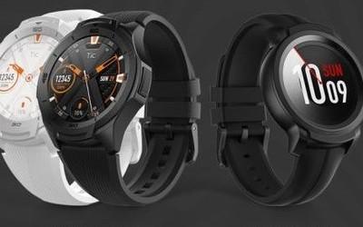 硬核军标运动智能手表出门问问TicWatch S2和E2发布