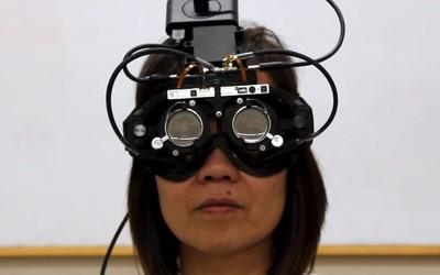 """斯坦福推出""""眼球追踪""""眼镜 自动对焦人眼所看的位置"""