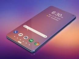 正面只有屏幕的手机 三星A100未来概念设计手机曝光