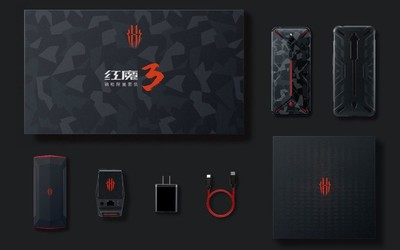 ChinaJoy游戏手机标杆 红魔3钢枪版限量套装正式发布