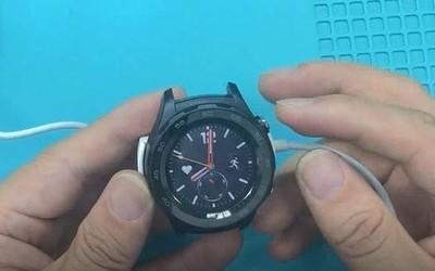 华为watch2智能手表不开机不充电,修理其实很简单