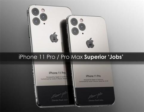 乔布斯特别版iPhone 11 Pro/Max将开售 你准备好了吗?
