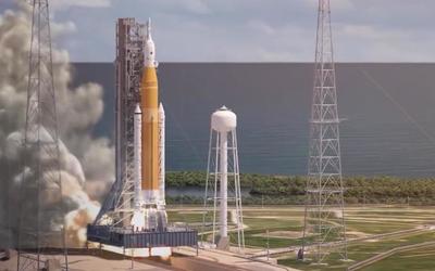 """NASA公布了""""有史以来最强大的火箭"""" 登月就靠它了"""