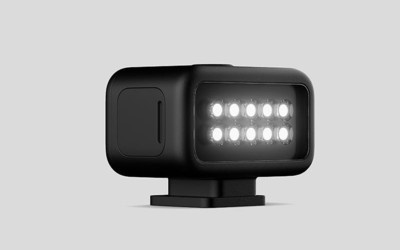 GoPro灯光选配组件即将开售 让你在黑暗中发挥创意