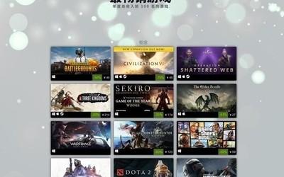 你究竟玩了几款?Steam发布2019年度畅销游戏榜单