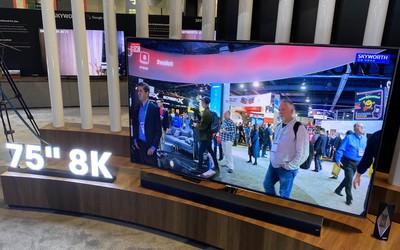 创维发布75英寸Q91系列电视 8K超清画面视听更震撼