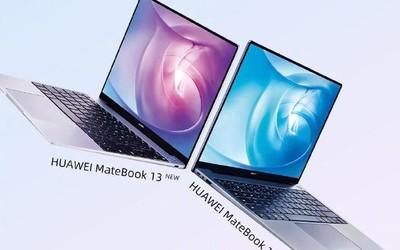 华为MateBook 13&14 2020款官宣 2K触控屏+十代酷睿