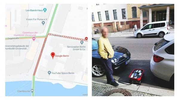 德国艺术家携带99部手机 只身上街造成谷歌地图堵车