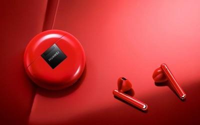 华为FreeBuds 3红色版在海外开卖 还是国行版价格良心
