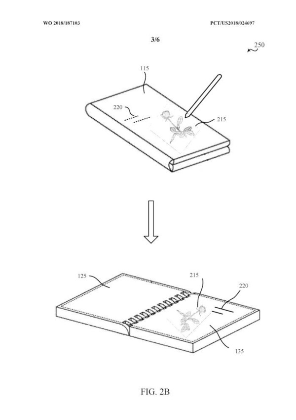 微软折叠屏专利曝光:内外双屏难道是新款Surface Duo