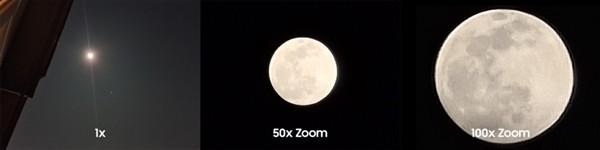 """三星晒S20 Ultra 100倍变焦""""拍月亮"""" 这效果太精彩了"""