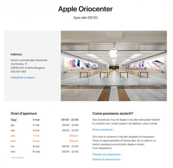 为防治新冠病毒 苹果将于本周末重开意大利Apple Store
