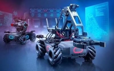大疆发布RoboMaster EP教育拓展套装和青少年挑战赛