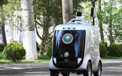 中关村部署5G无人配送车 支持人脸识别和体温检测
