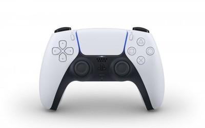 索尼PS5无线手柄DualSense亮相 黑白配色流线型外观