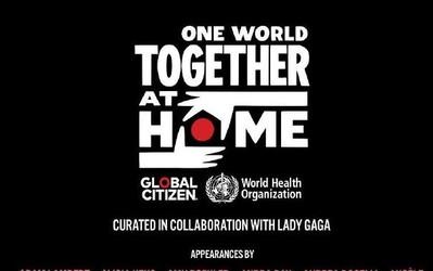 """世衛組織舉辦""""同一世界:團結在家""""線上特別慈善音樂會"""