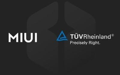 德国莱茵宣布与MIUI合作 看来MIUI12真的不远了!
