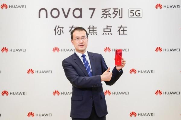 华为消费者业务手机产品线总裁何刚
