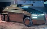 特斯拉Cybertruck或可被军用 警车装甲车坦克随便整