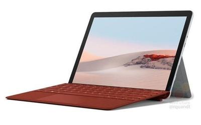 微软SurfaceGo 2渲染图曝光:边框收窄颜值还不错
