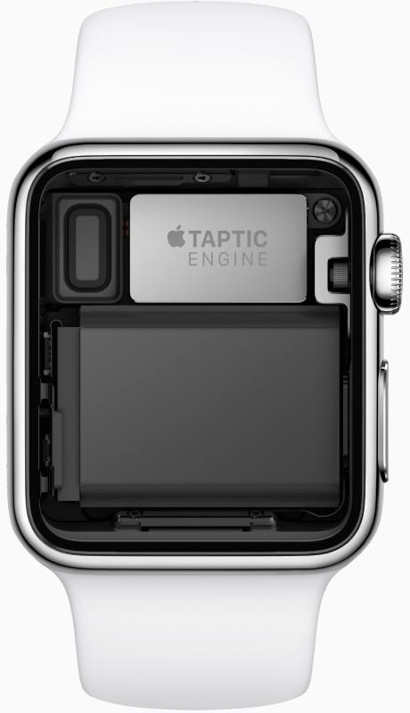 Apple Watch内置Taptic Engine