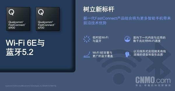 Qualcomm FastConnect 6900和Qualcomm FastConnect 6700移动连接系统