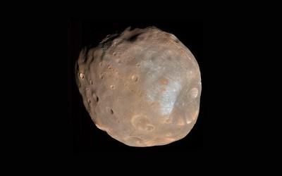 NASA捕捉到火卫一的多彩影像 或对其分析有重大意义