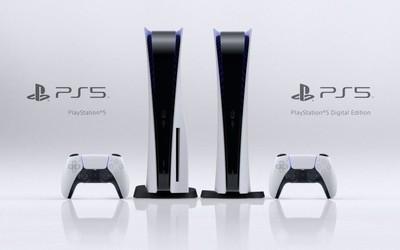 索尼PlayStation 5游戏主机发布 黑白配色内置定制SSD