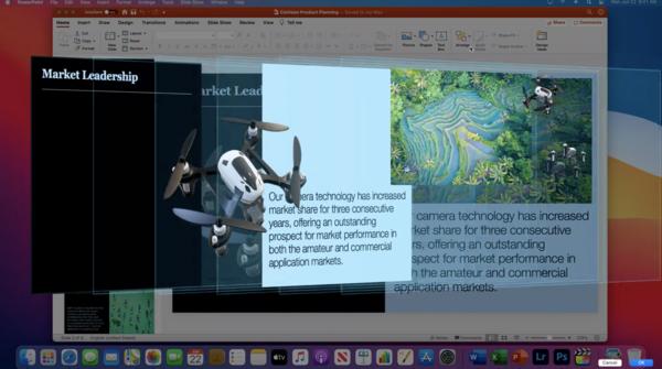 3D模式下浏览Powerpoint