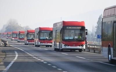 比亚迪纯电动大巴在智利市占率达65% 有望获更多订单