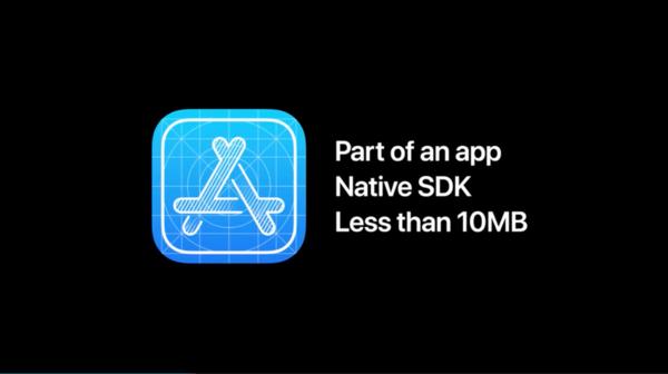 App Clips必须小于10MB