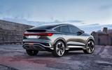 奥迪新款Q4 e-tron电动SUV概念图发布 约售31.6万元