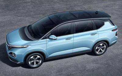 五菱全新SUV专利图曝光 或是首款银标纯电动车型