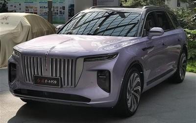 红旗E-HS9纯电动SUV实车曝光 将于7月28日正式亮相