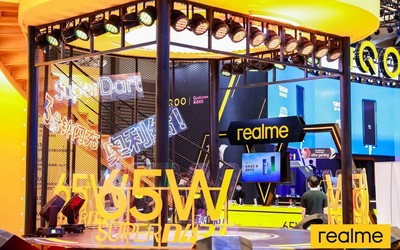 realme最潮展厅亮相ChinaJoy 2020 智慧闪充引领潮玩