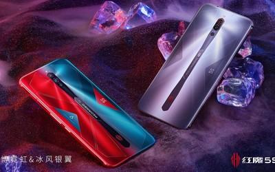 红魔5S游戏手机正式首销 144Hz屏+55W快充售3799起
