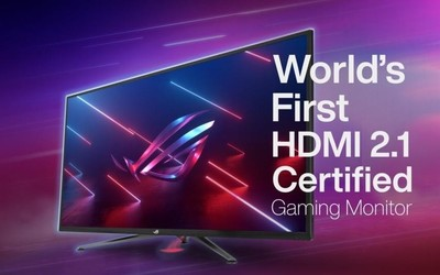 ROG全球首款HDMI 2.1认证显示器 兼容新一代游戏主机
