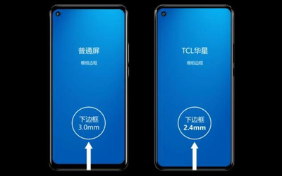 2.4mm!TCL华星超级全面屏实现全球最窄LCD下边框