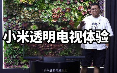 """小米透明电视体验:电视领域的""""小米MIX""""凭什么卖到49999?"""