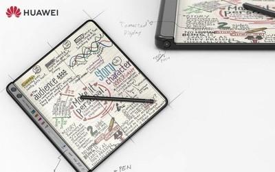 华为全新折叠屏手机专利曝光 全面屏设计还有手写笔