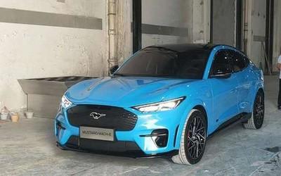 Mustang Mach-E在国内现身!或参加2020年北京车展